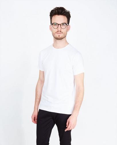 Zwart slim fit T-shirt
